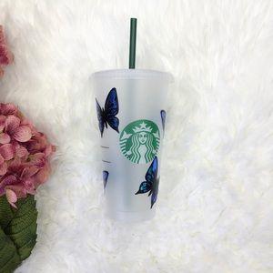 Starbucks Accessories - Starbucks Butterfly  Reusable cup